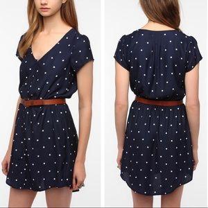 Kimchi Blue navy/white Sabrina T-shirt dress